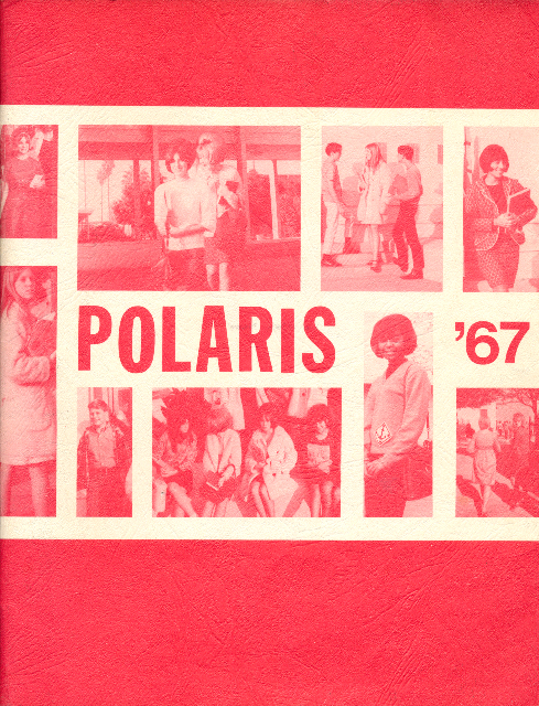 Polaris Yearbook (Peary Junior High School) 1967