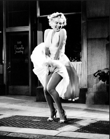 20th Century Fox  The Seven Year Itch   Publicity photograph with Marilyn Monroe (pictured), 1954