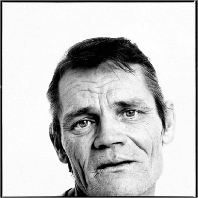 Richard Avedon,  Chet Baker,  1987