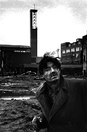 Don McCullin,  Homeless Aldgate, East End London, 1963