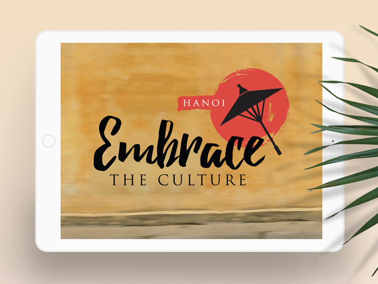 Embrace the culture, hanoi 2016 EVENT BRANDING