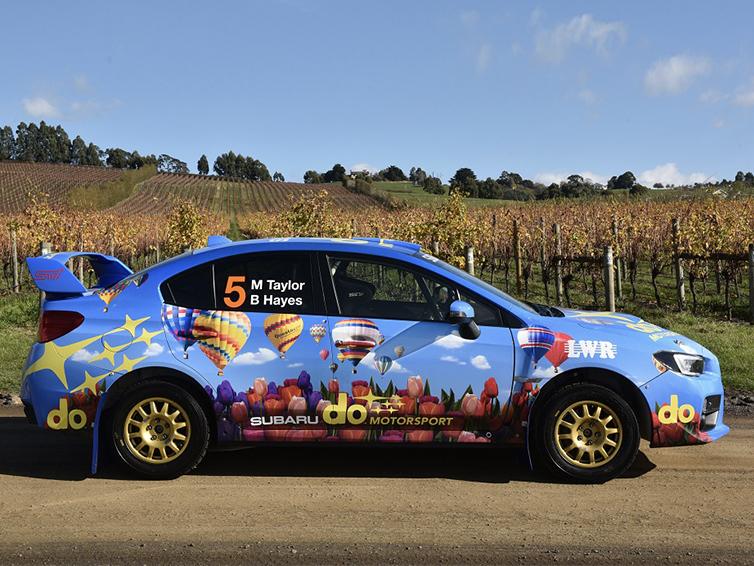subaru AUSTRALIA motorsport CAR LIVERY & MERCHANDISE