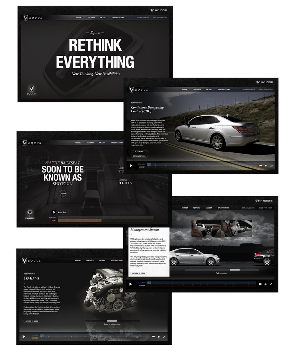 Hyundai Equus Launch Website