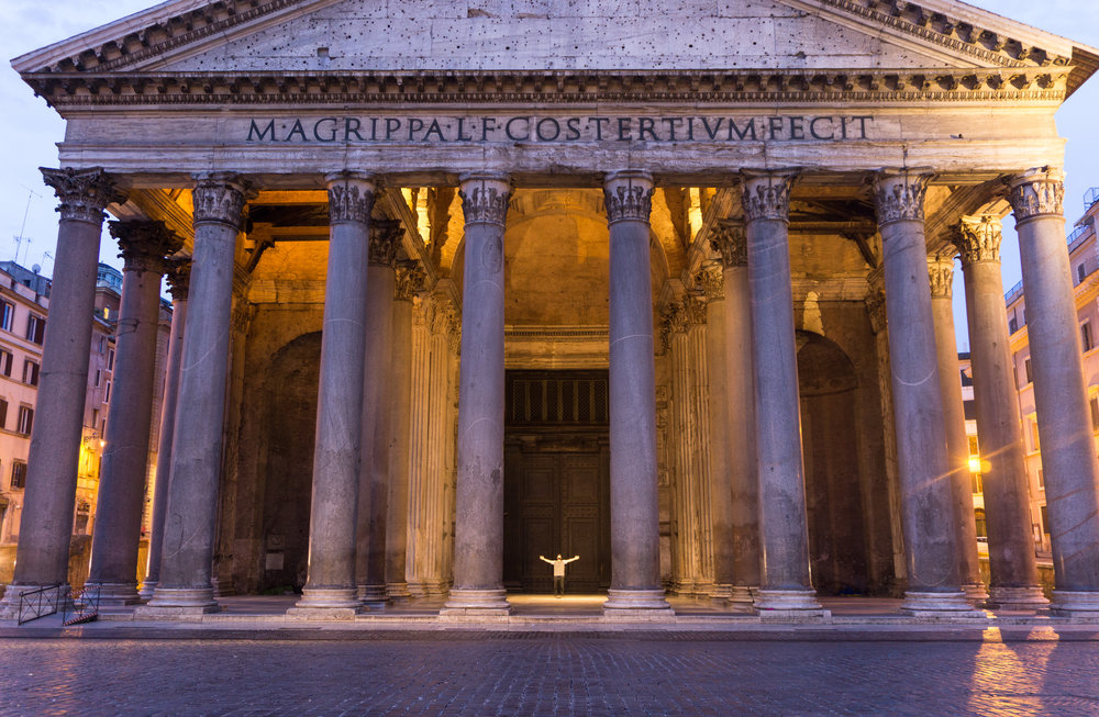 The Pantheon at 0530