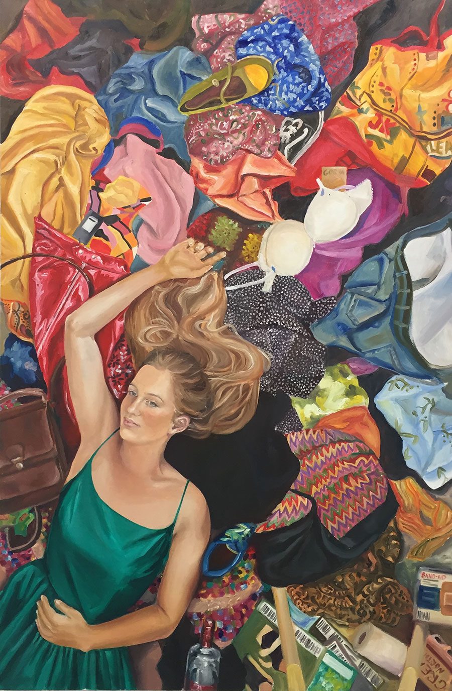 Eliza Bertwistle, 'Organised Chaos.'