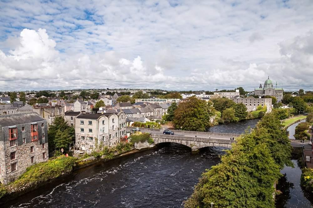 Galway Bridge Aerial