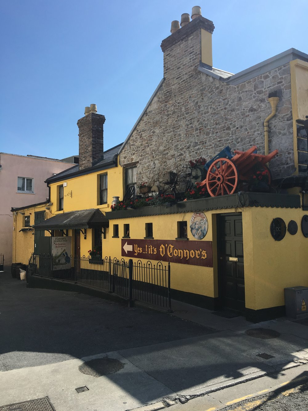 O'Connors Pub of Salthill - 10 minute drive