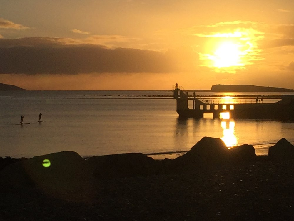 Sunset at Salthill - 10 mins away