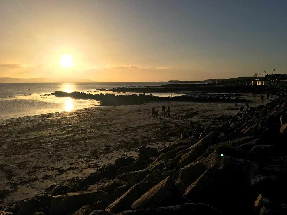 Sunset at Salthill