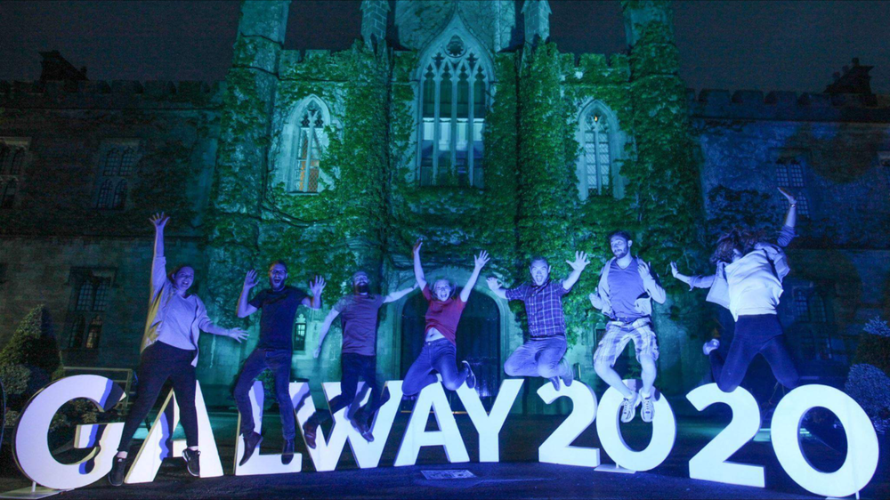 Galway City - winner of the 2020 European capital of culture
