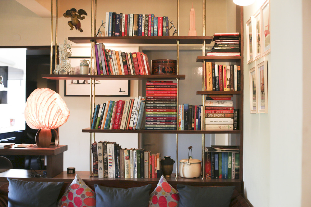 What Do You Like To Read Chef We Ask Eyeing The Towering Bookshelf Where Flavour Bible And Ottolenghis Plenty Share Shelf Space With Suzanne