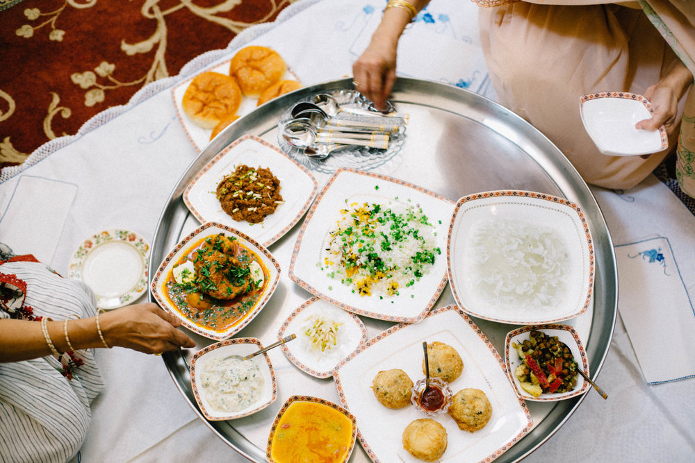 A traditional Bohri thaal