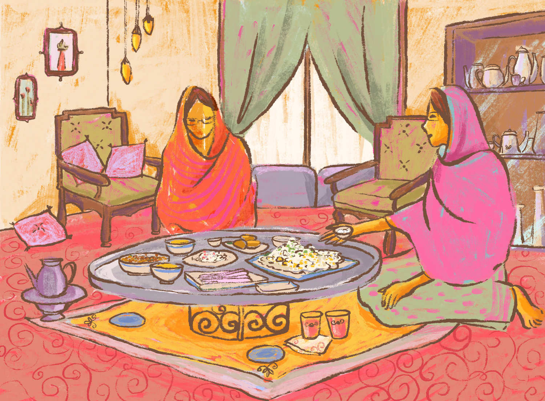 Illustration by Tasneem Amiruddin.