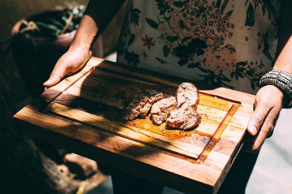 #1000Kitchens | Gautam John cooks sous vide steak at home