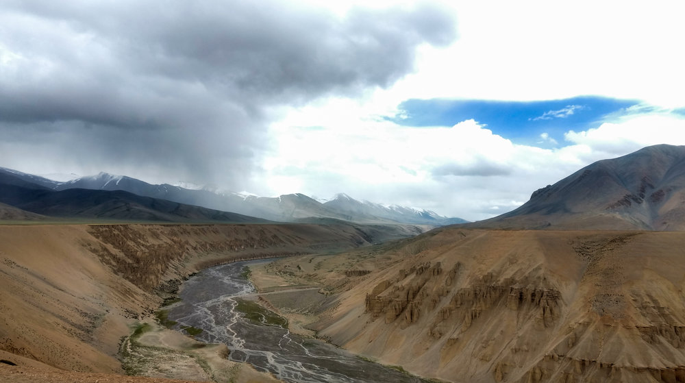 Mountains carved and weathered by rock, wind, river and glacier  Image credit: Anisha Jayadevan
