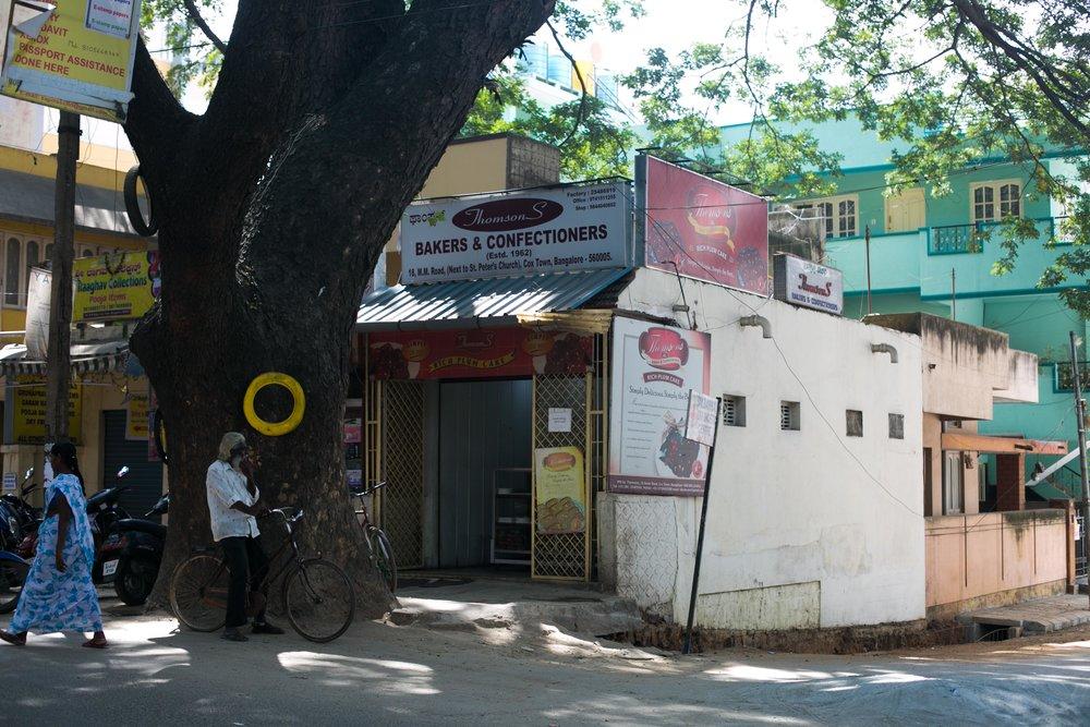 Baking plum cake at Thomsons Bakery, Bangalore