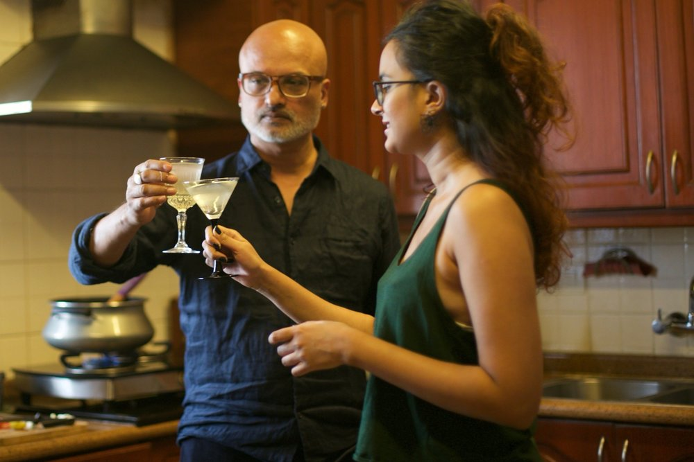 Jeet Thayil and Tia Anasuya cook in their Bengaluru residence for #1000Kitchens