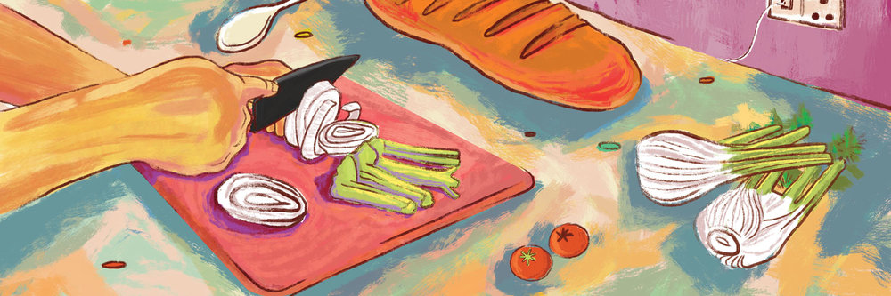 Jeet Thayil makes a Fisherman's Bouillabaisse for #1000Kitchens