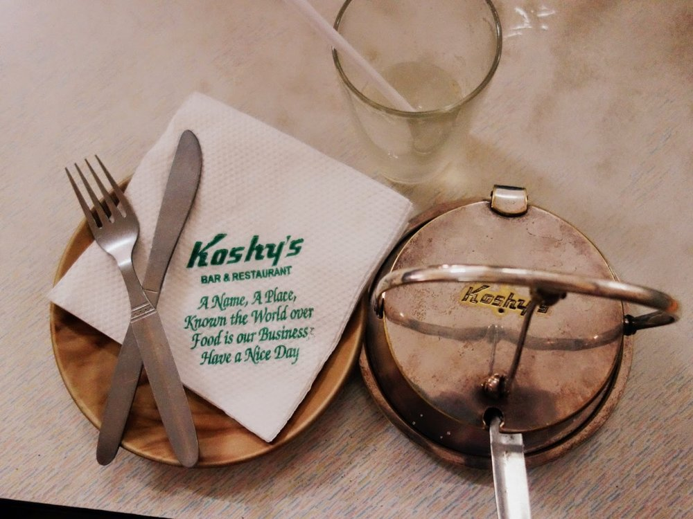 Kheema toast on the secret menu at Koshy's in Bengaluru