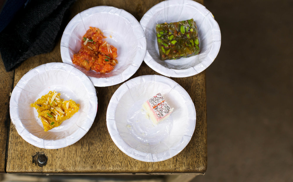 An old mithai shop makes an extraordinary variety of sweetmeats, including pre-partition treats from Karachi.