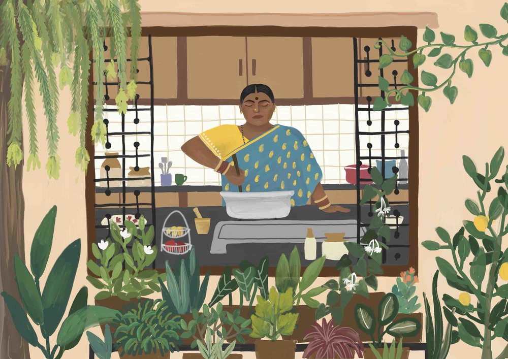 Ceylon curry recipe for #1000Kitchens | Arathy Madappa, Bangalore