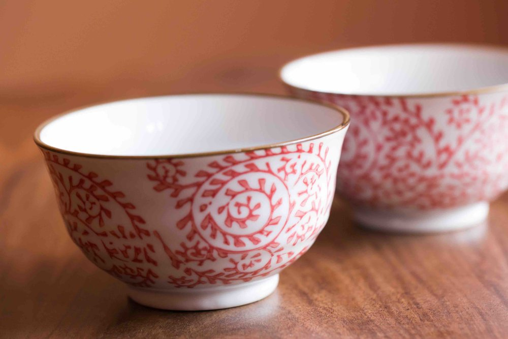 - Medium-sized bowl - Diameter: 10.5 cm; Height:6 cm (INR 600)