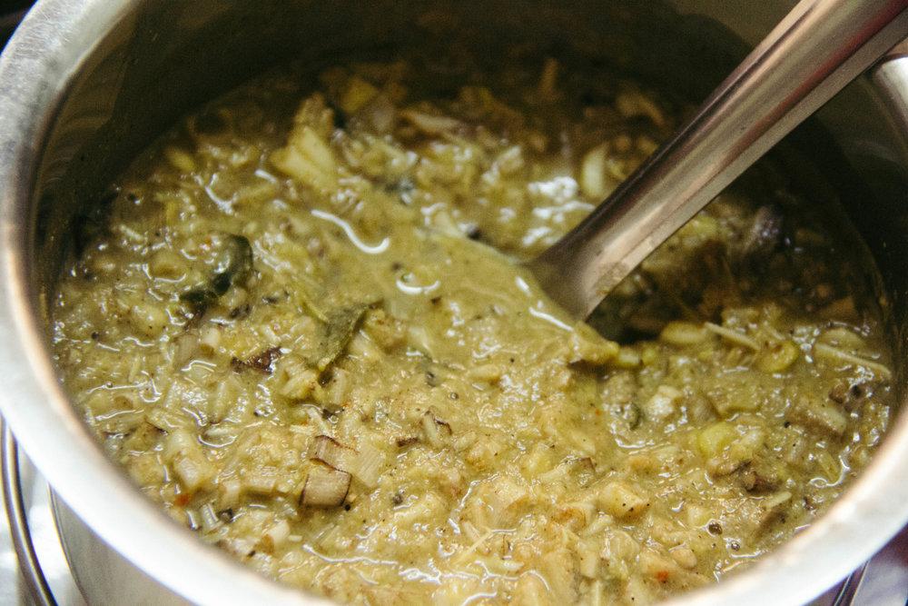 Recipe for Vazhapu Kootu
