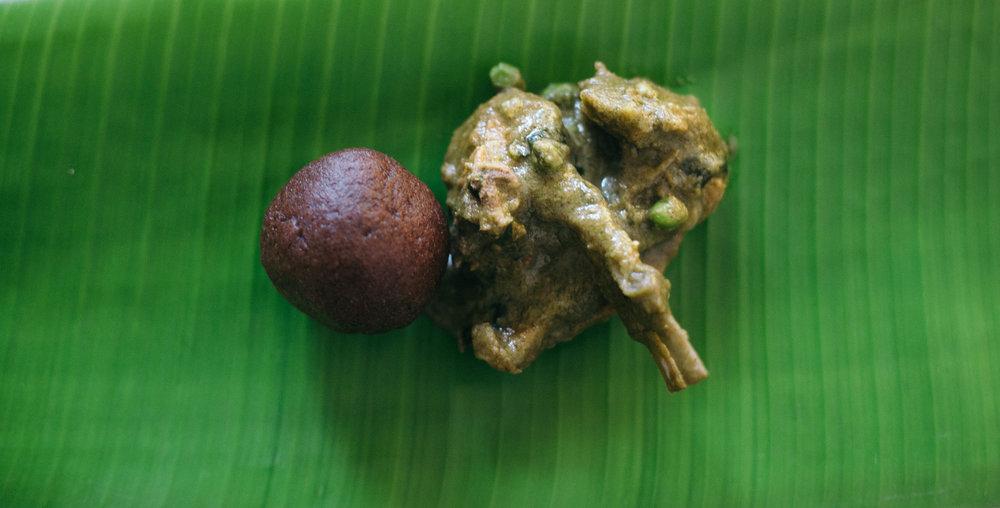 Recipe for mutton chops curry, Gowda cuisine