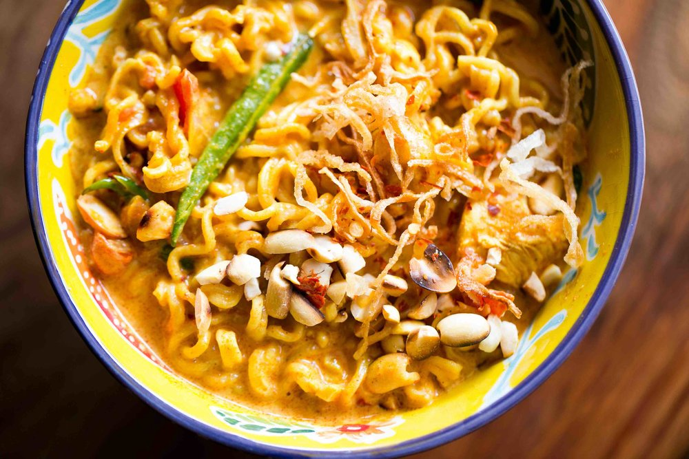 Recipe for Coconut Milk and Chicken Maggi Noodles