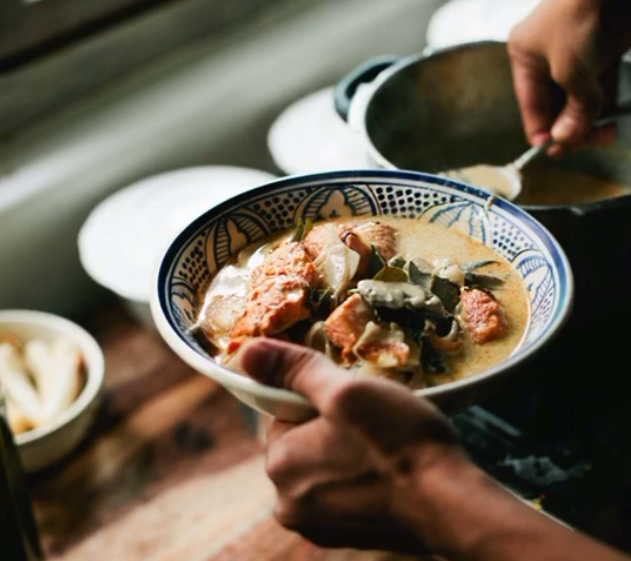 Recipe for Fish and Mushroom stew