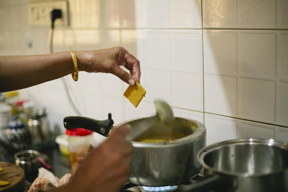 Traditional Rajasthani Dal Dhokli