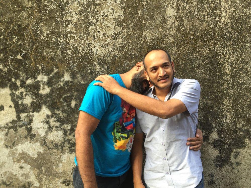 Ayaz and Zameer Basrai run the The Busride Design Studio