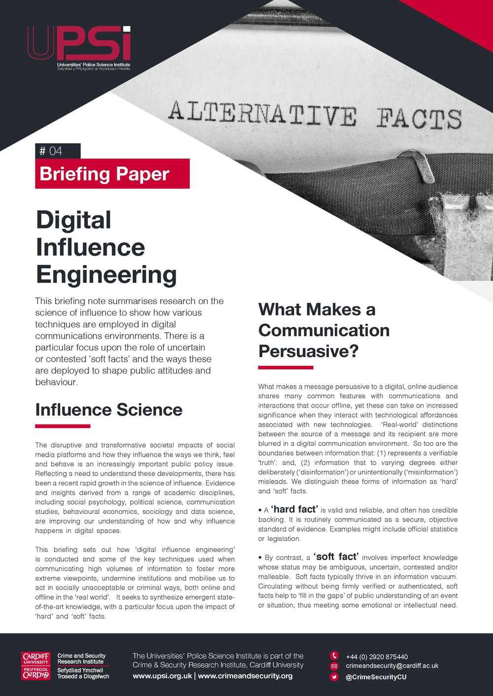 Digital Influence Engineering -
