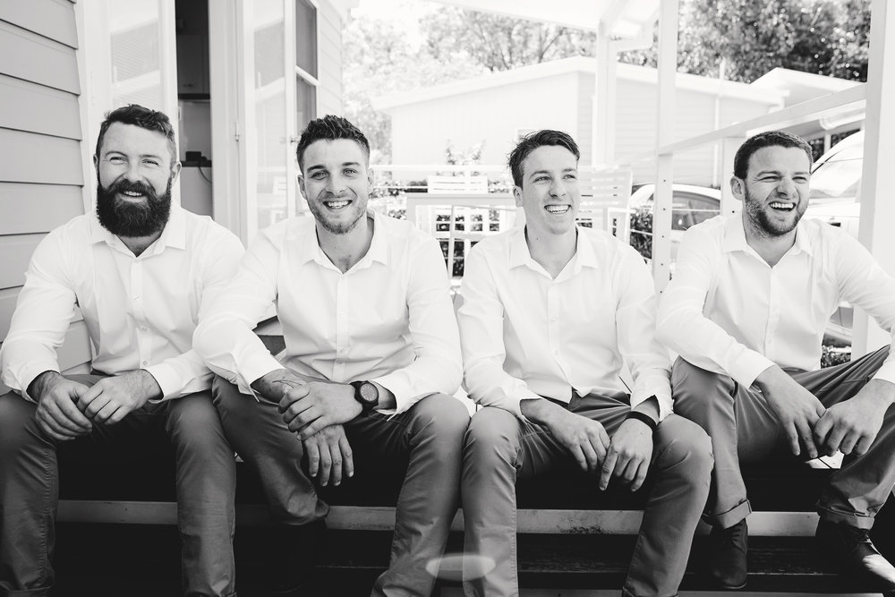 Hills District, Sydney Wedding photography - groomsmen