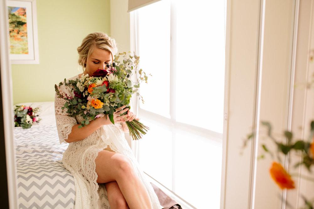 Hills District, Sydney Wedding photography - getting ready