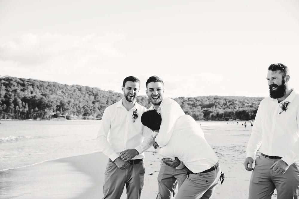 Hills District, Sydney Wedding photography - beach wedding Central Coast NSW
