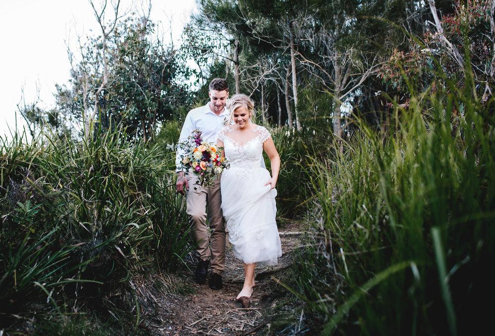 Hills District, Sydney Wedding photography - boho bride