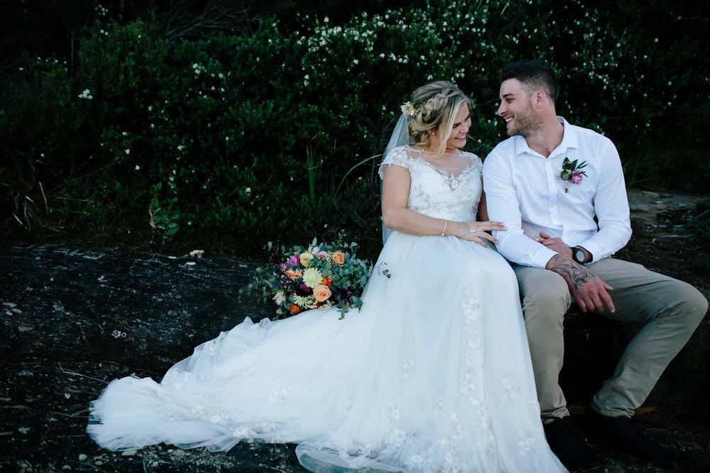 Hills District, Sydney Wedding photography - happy couple
