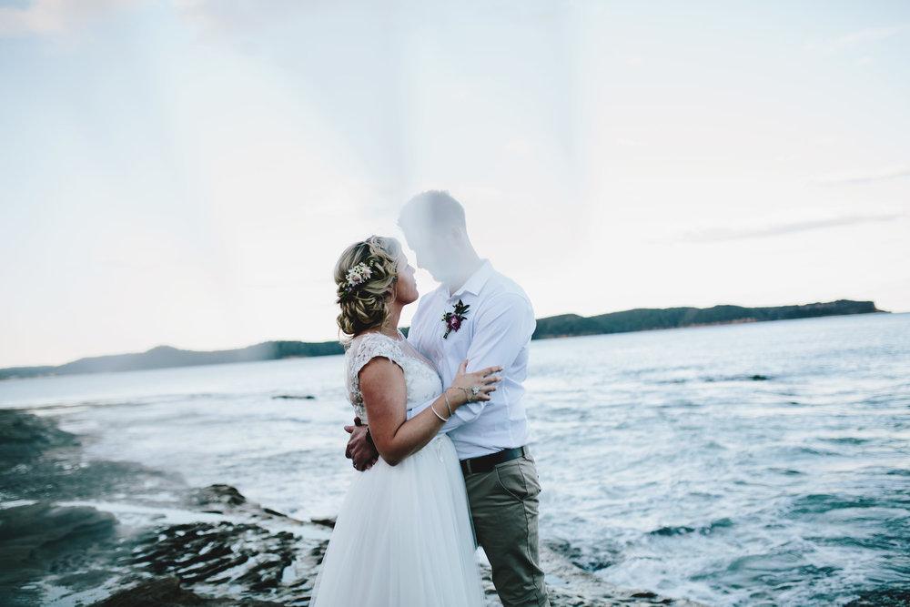 Hills District, Sydney Wedding photography - through the veil