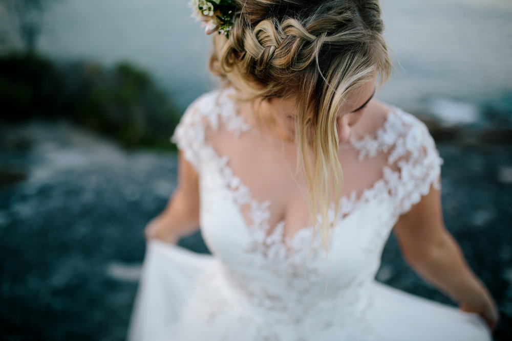Hills District, Sydney Wedding photography - the hair