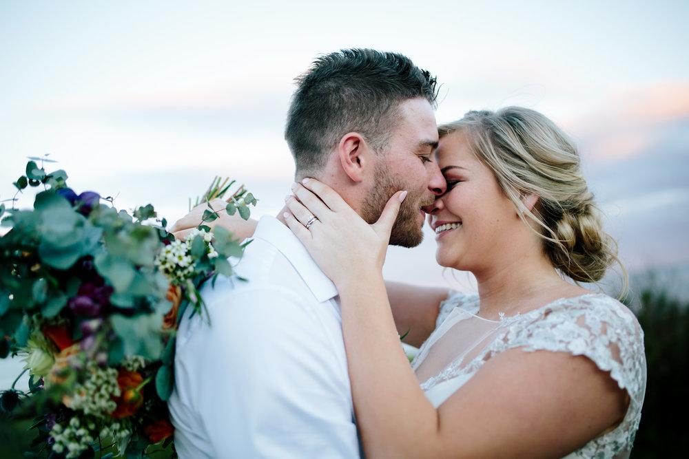 Hills District, Sydney Wedding photography - sunset wedding