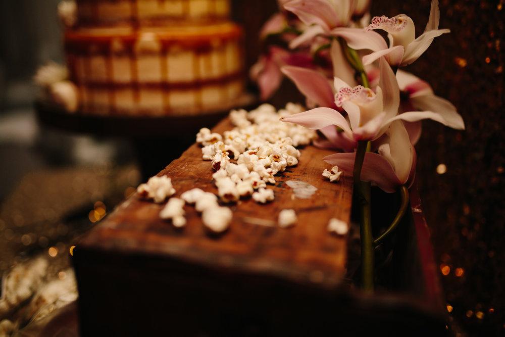 Hills District, Sydney Wedding photography - popcorn cake