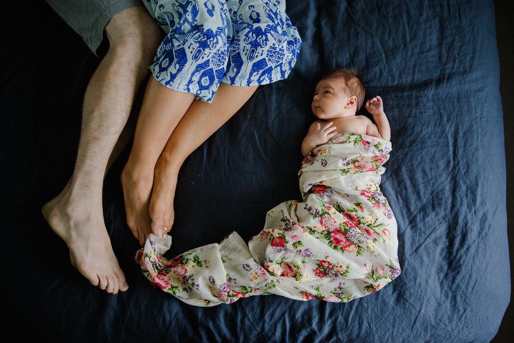 Hills district newborn photography