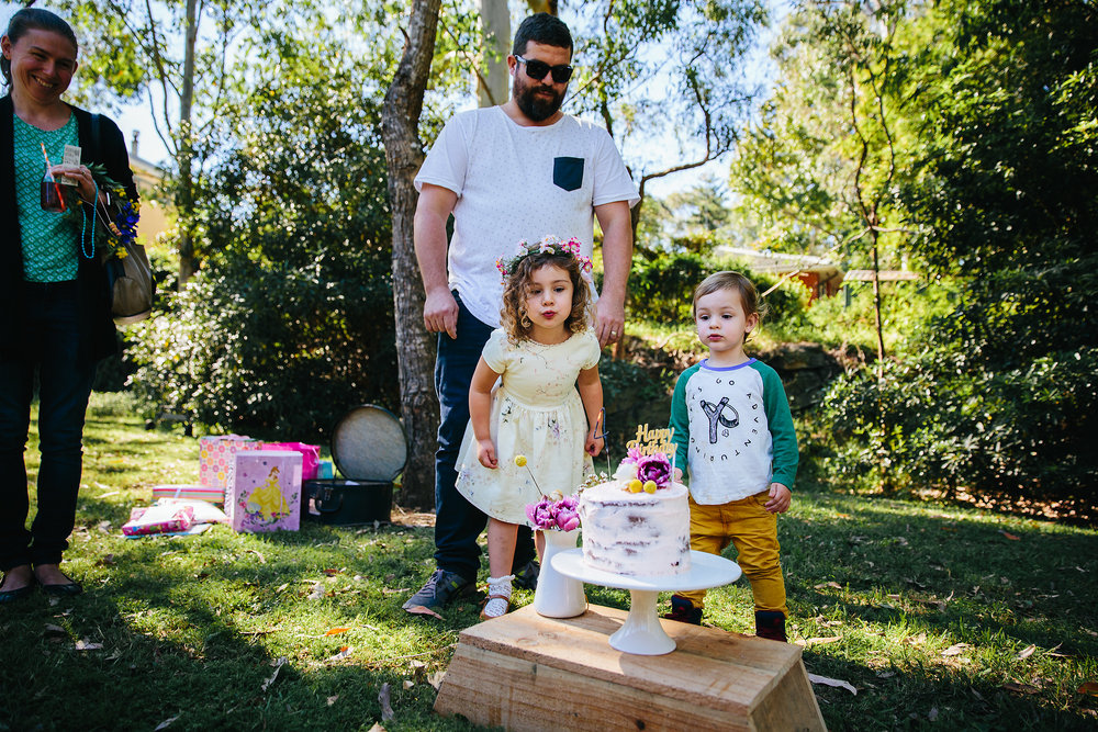Birthday Cake | Lauren Kennedy Photographer