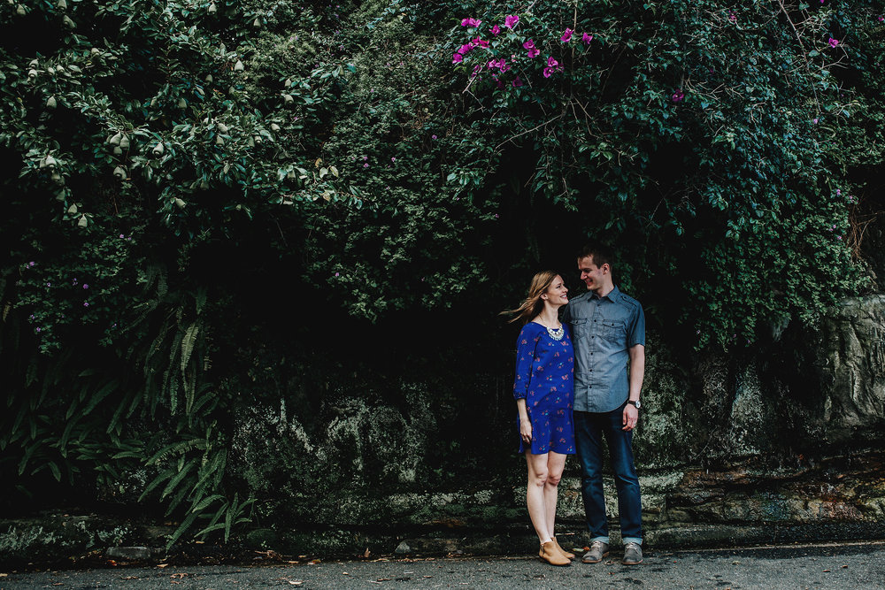 Hills District Engagement Photographer