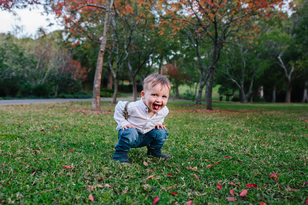 Cheeky Boy | Hills District Family Photographer