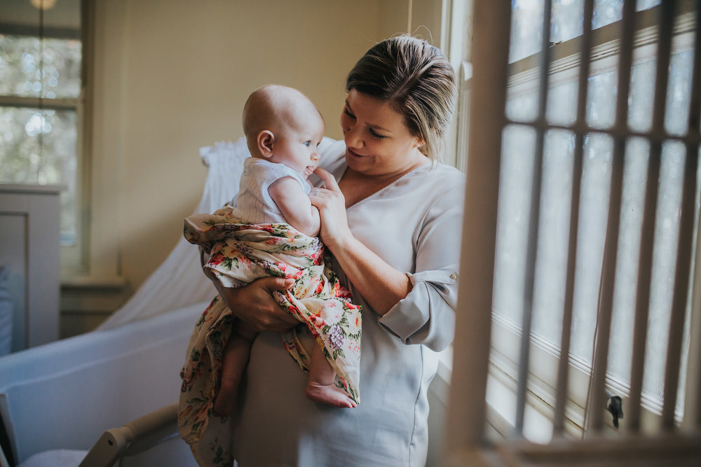 Mum and baby | Hills District baby photographer