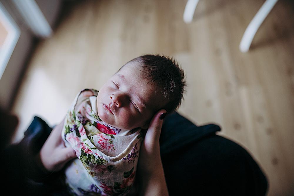 Newborn girl | Hills district newborn photographer
