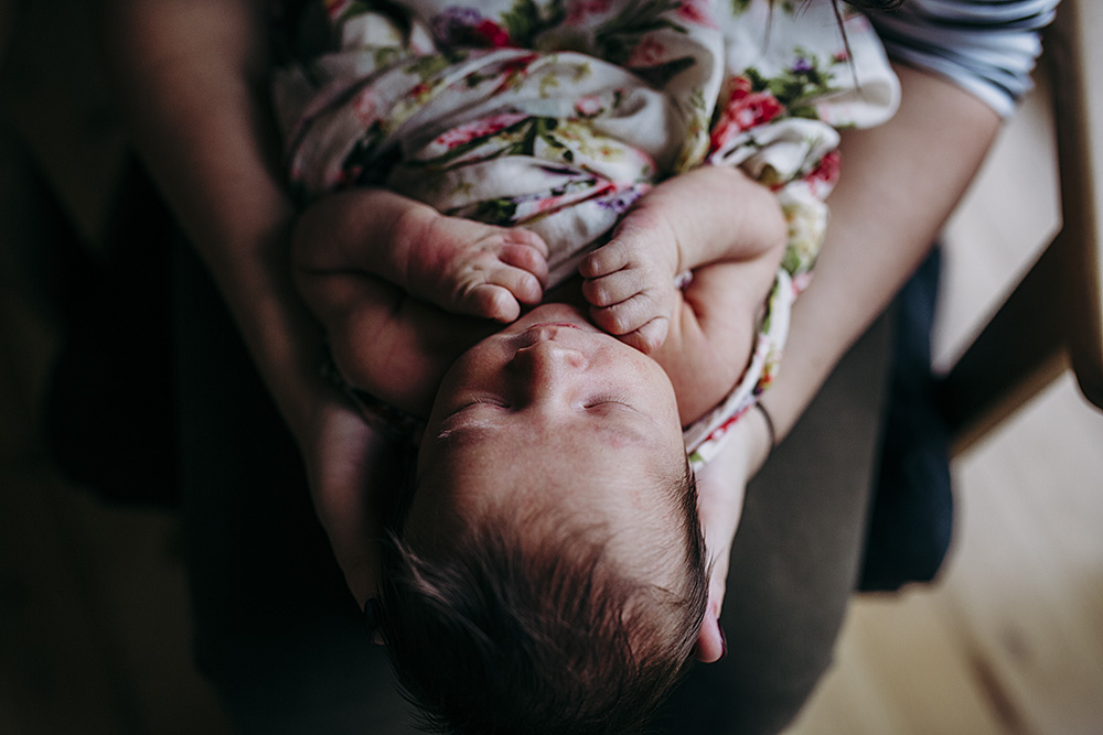 sweet baby girl | Hills District Newborn Photographer