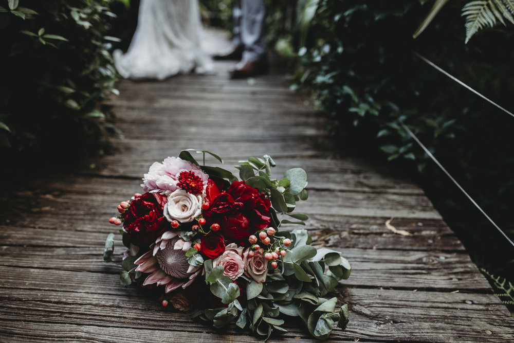 wedding blooms | Hills district